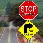 Как отследить ошибку 404 и перенаправить ее в WordPress