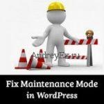 Как в WordPress отправить сайт на технические работы?