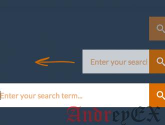 Как добавить в поиск эффект переключения в WordPress