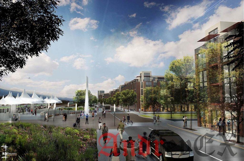 Планы развития вокруг станции, Пенья во главе японского гиганта технологии Panasonic.