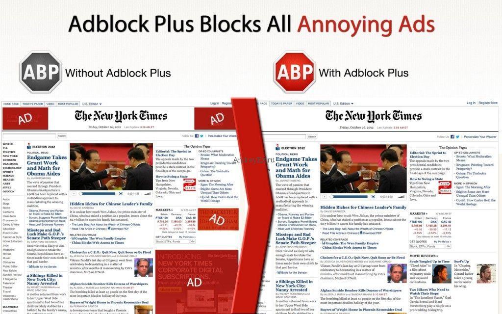The New York Times может получить техническую возможность борьбы с блокировкой рекламы