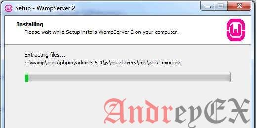 Установка WampServer