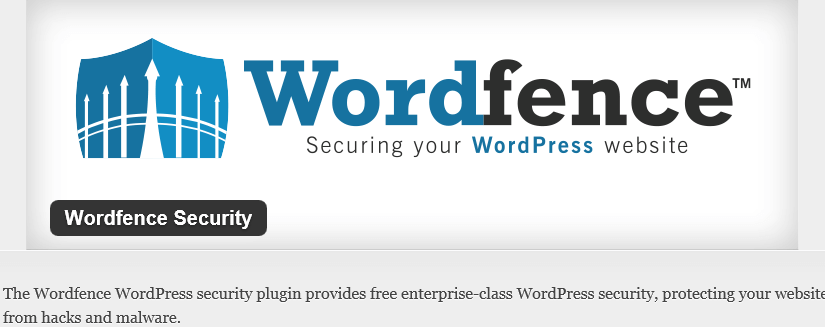 Безопасность: Wordfence