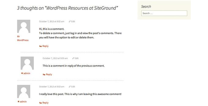 Что такое комментарии и Pingbacks