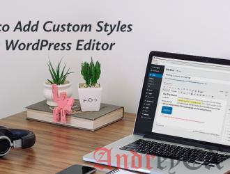 Добавление пользовательских стилей для WordPress Visual Editor