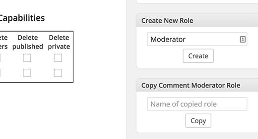 Добавление роли пользователя в пользовательских WordPress