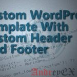 Как добавить верхний и нижний колонтитулы в футер в WordPress