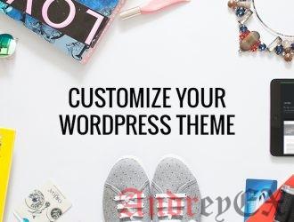 Как настроить тему в WordPress