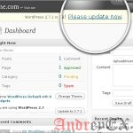 Обновление WordPress вручную