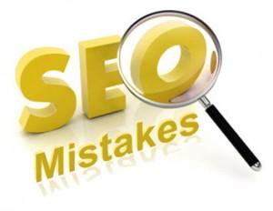 Распространенные ошибки в SEO сайта