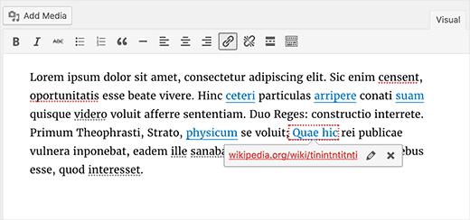 Текстовыделитель сломанных ссылок в WordPress 4.6