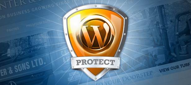 WordPress защищен от спама