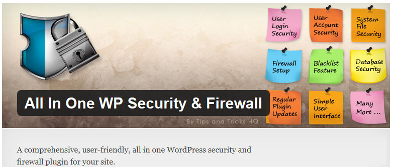плагин AIO WP Security & Firewall