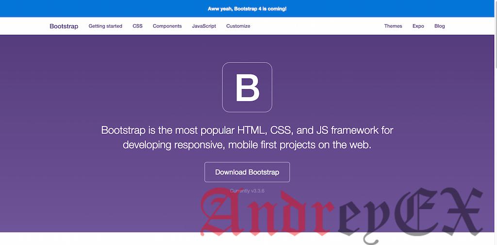 Адаптивный дизайн на основе Bootstrap