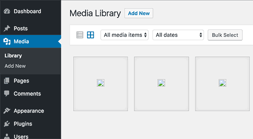 Проблема загрузки изображений в WordPress