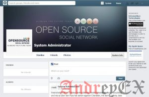 Установка Open Source Social Network на Ubuntu 16.04
