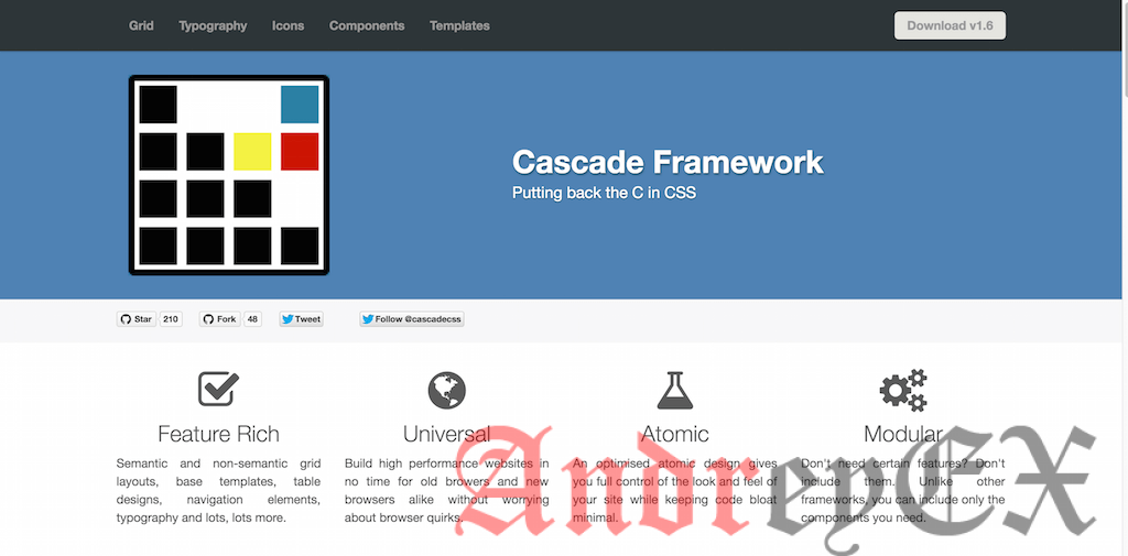 framework Cascade для WordPress