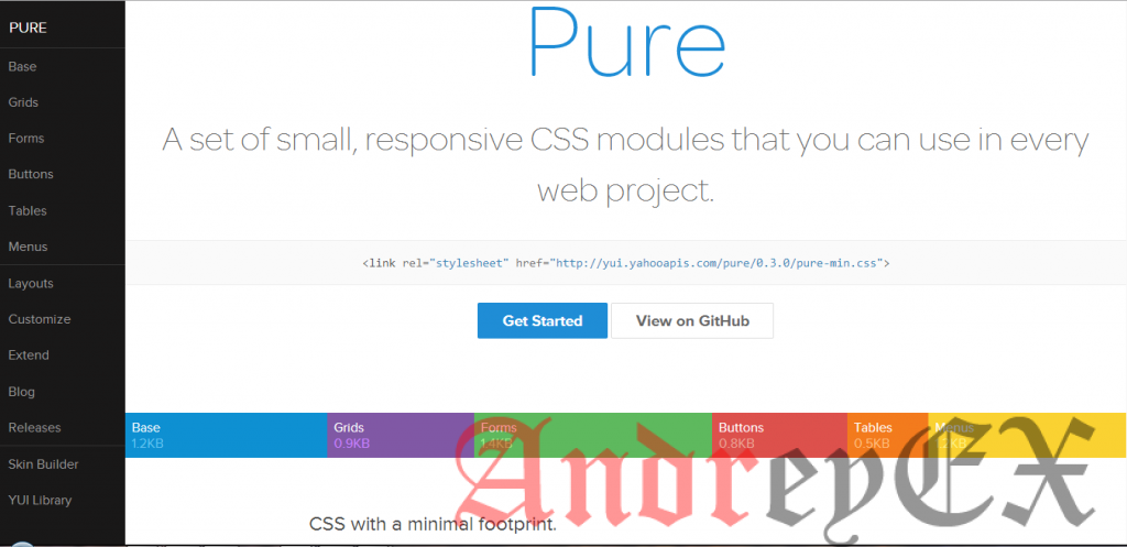 framework Pure для WordPress