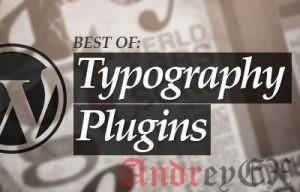 16 лучших WordPress плагинов шрифтов для улучшения вашего дизайна