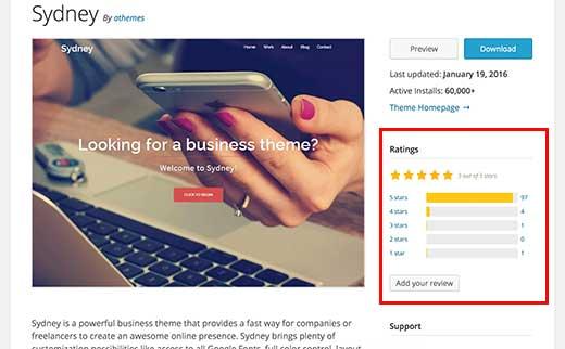 Читайте отзывы к теме и рейтинги другими пользователями