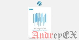 Экран входа в WordPress с помощью Clef