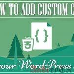 Как легко добавить пользовательские CSS на ваш сайт WordPress