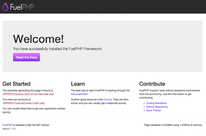 Как установить FuelPHP с Nginx на Debian 8