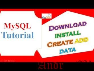 MySQL Учебник: установка, создание БД и таблицы, вставка и выбор записей