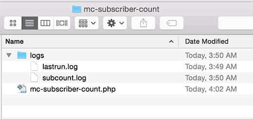 Создание лог-файлов