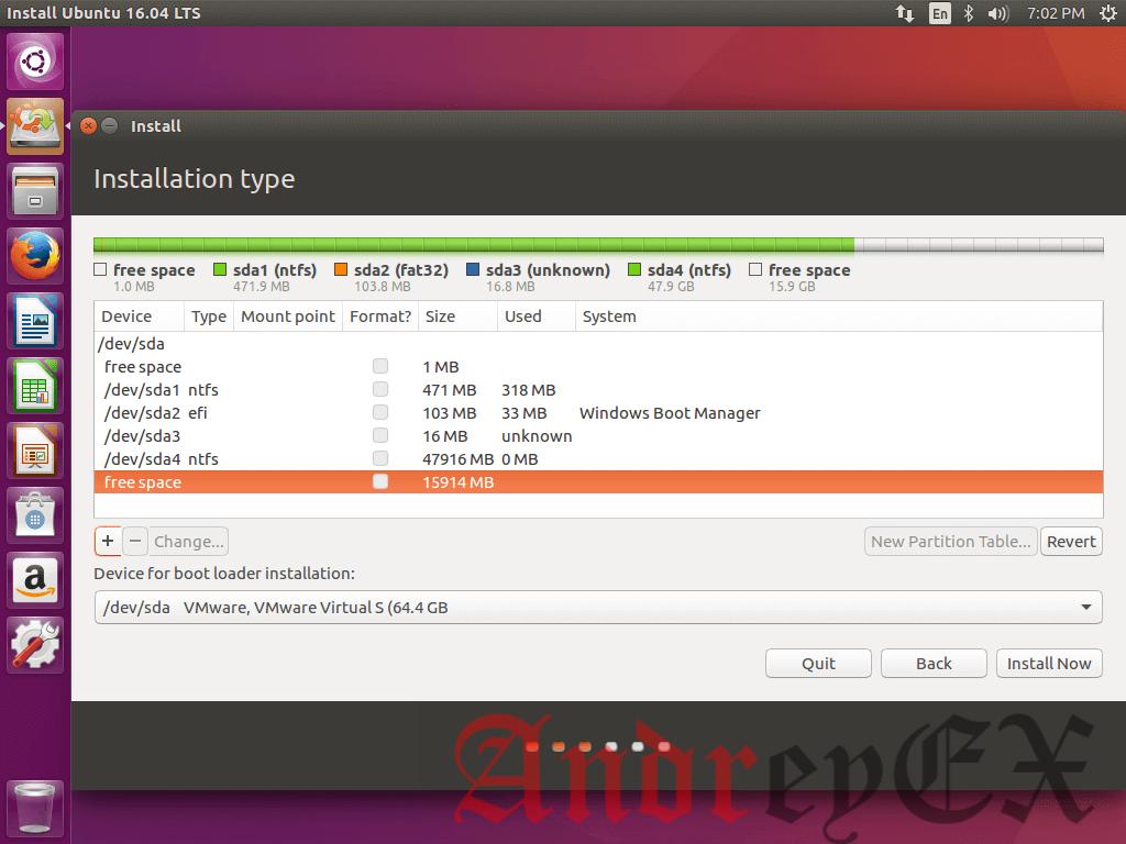 Создание раздела в Ubuntu 16.04