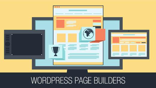 Установите Page Builders в WordPress