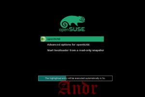 Установка минимальной серверной версии OpenSUSE 13.2. Часть 1.
