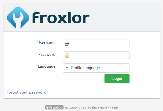 froxlorlogin
