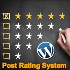 Добавление к постам рейтинговой системы в WordPress