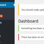 Добавление оповещений в панель администратора WordPress
