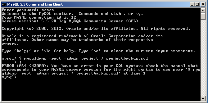 Как сделать резервную копию/восстановление MySQL в Ubuntu