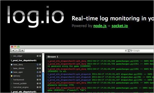 Установка Log.io на CentOS 7