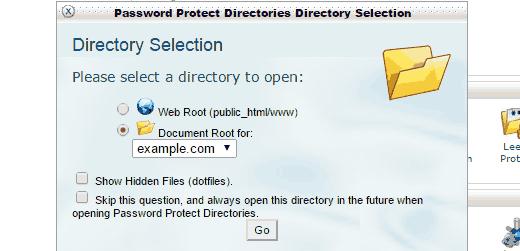 Выберите корень документа