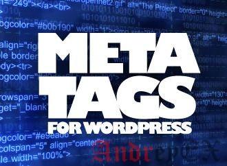 Как добавить ключевые слова и мета-описание в WordPress