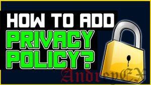 Как добавить политику конфиденциальности в WordPress