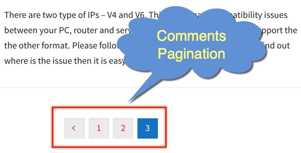 Как разбивать комментарии на страницы в WordPress