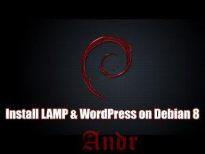 Как установить WordPress на Debian 8