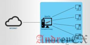 Обратный прокси-сервер и анонимный прокси Apache