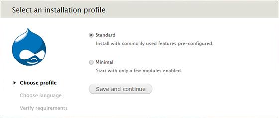 Установка Drupal на Debian 8 Jessie