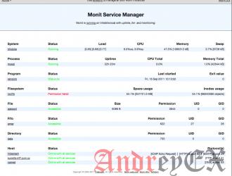 Установка Monit на Ubuntu 16.04