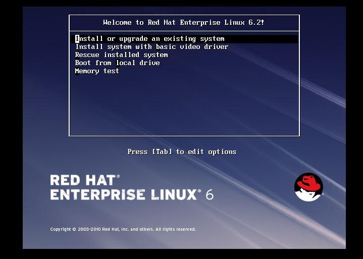 установка Linux кикстарт
