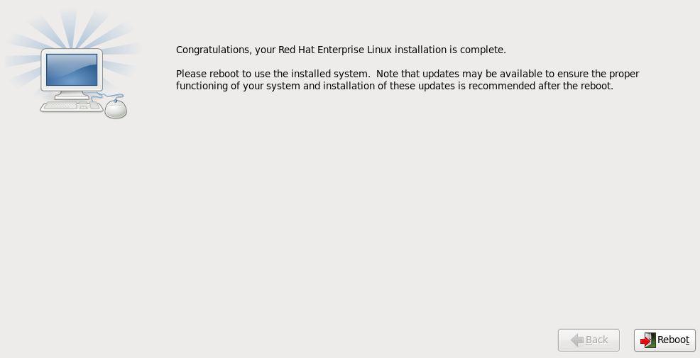 установка Linux кикстарт 3