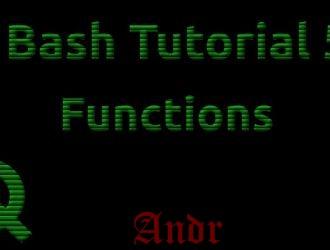 Краткое руководство: Как написать функцию в Bash
