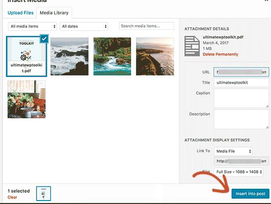 Предоставить название и заголовок для файла PDF