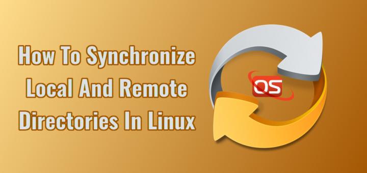 Как синхронизации локальных и удаленных каталогов в Linux
